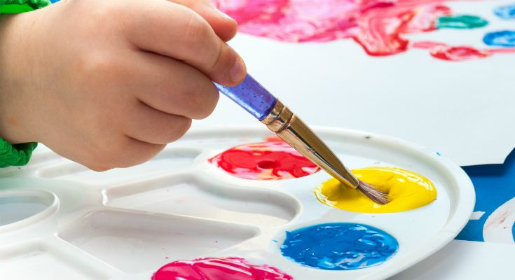 Reasons why your preschooler needs to paint